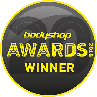 Proud winners of the Bodyshop Magazine Educational & Training Award 2016